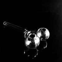 glasbehälter großhandel-Doppelte Ölbrenner-Glaspfeife mit zwei Töpfen, die Rohr für Wasserpfeifenshisha-Ölplattformen auf Lager rauchen