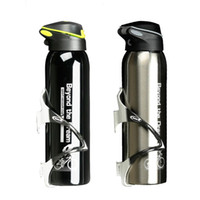 Wholesale bike bicycle aluminum water for sale - Group buy 500 ML Bike Water Bottle Outdoor Sport Portable Bicycle Kettle Warm keeping Water Bottle Aluminum Alloy Mountain Cycling Bottle