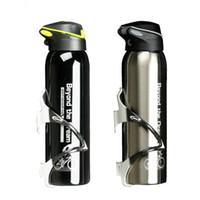 aluminium wasserkocher großhandel-500 ML Fahrrad Wasserflasche Outdoor Sport Tragbare Fahrrad Wasserkocher Warmhalte Wasserflasche Aluminiumlegierung Berg Radfahren Flasche