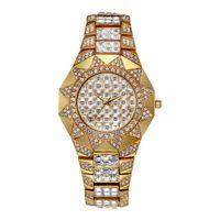relojes de cuarzo movt al por mayor-Sun Womens Watches Top Brand Japan Movt Reloj de cuarzo Female Diamond Solar Gold Watch Xfcs Ladies Ladies Relojes de pulsera