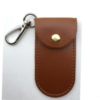 Wholesale durable beds for sale - Creative Simple Durable Retro Hand Spinner Bag Practical Good Container Fidget Spinners Leather Sheath Special Cover Brown Hot Sale nw aa