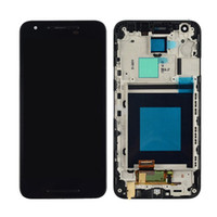 Wholesale JOEMEL for LG Nexus X H791 H790 LCD Foruch Assembly with Frame color Black