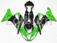 ingrosso plastica ninja zx6r-Carenature moto per carrozzeria adatte per Kawasaki Ninja ZX6R 636 ZX-6R 2013 2014 2015 2016 13-16 Kit carenatura Plastica ABS di alta qualità su misura
