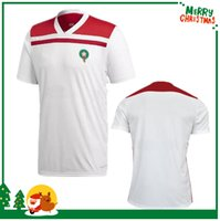 Wholesale Free Soccer Jerseys - 2018 World Cup Morocco home away third Soccer Jersey 2018 2019 Morocco green white red soccer jersey football shirt FREE shipping