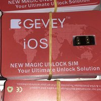 Wholesale only cable - 3 Hours ONLY list on ! GEVEY Unlock Card for iPhone X 8 7 6S 6 5S 5C SE IOS12.X Double-SIM Card