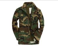 veste de tranchée armée achat en gros de-Voir Armée Épaisse Armée Militaire Shells Homme tactique Coupe-Vent Active Coton Veste Armée Trench-Coats SO1105