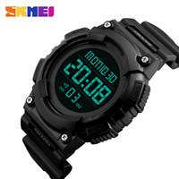 reloj de pulsera skmei led. al por mayor-SKMEI Reloj de pulsera LED Reloj Digital Hombres Marca Luxury Electronic Sport Relojes Hombre Reloj Relogio Masculino 1248