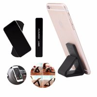 Wholesale wall phone holder for sale – best Universal Magic Flourish Lama Nano Rubber Multi Function Wall Sticker Pad Mobile Phone Holder Car Bracket pods Fixate Gel Pads