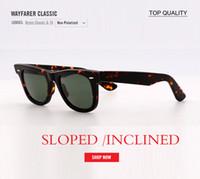 ingrosso le tonalità degli occhiali vintage-New Vintage Uomo Occhiali Da Sole Donne Del Progettista di Marca Retrò Quadrato g15 vetro inclinato inclinato occhiali da sole UV400 Shades Occhiali Oculos de sol gafas
