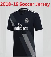 Wholesale Real Silk Shirts - 2018 Real madrid Jersey Isco 18 19 RONALDO white AWAY Asensio BALE RAMOS ISCO MODRIC football shirt Marcelo 3RD SIZE S-4XL