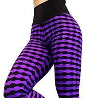 rayas de cebra delgada al por mayor-Zebra Stripes Printed Yoga Pants Mujeres Push Up Hips Leggins Sport Mujeres Fitness Pantalones delgados Gym Clothes Leggings Running Pants