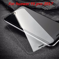 Wholesale Nova Pro - Tempered Glass For huawei Y6 pro 2017 NOVA 2 plus MATE 10 PRO MATE 10 LITE Screen Film with Retail packaging C