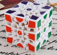 Wholesale gears plastic puzzles resale online - 3D Cube Puzzle Magic Cube x x Gears Rotate Puzzle Sticker Adults Child s Educational Toy Cube DHL OTH865