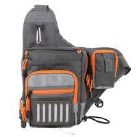 Wholesale design lure resale online - New Design Fishing Sling Bag Multi Purpose Waterproof Outdoor Waist Bags Fishing Reel Lure Bags Fishing Tackle