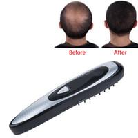 dispositivos de cabeleireiro venda por atacado-Profissional Elétrica Depilação Para O Crescimento Do Cabelo Do Cabelo Hair Styling Tratamento de Crescimento de Perda de Cabelo Pente Estimulador Infravermelho Dispositivo Massageador