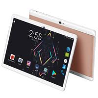 ingrosso chiamata da tavolo 4g lte-Nuovo modello 2018 da 10 pollici Tablet Andriod 7.0 Sistema WiFi 3G 4G FDD LTE chiamata telefonica IPS 1280x800 4 GB RAM 64 GB ROM Computer GPS Tablet