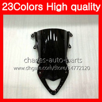 Wholesale Bmw Rr - 23Colors Motorcycle Windscreen For BMW S1000R S1000RR 09 10 11 12 13 14 S1000 RR 2009 2010 2011 13 2014 Chrome Black Clear Smoke Windshield