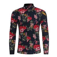 цены на блузку оптовых-Sunfree Низкой цены Promotions Блуза Прохладного мальчик Красивая смарт Повседневная длинный рукав Мужчина Блуза Удобная мягкая 3L50