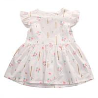bebek kızı gelinlik rahat toptan satış-Tatlı Yürüyor bebek Çocuk Bebek Kız Yaz Elbise Prenses Parti Düğün Tutu Elbiseler Casual Sundress