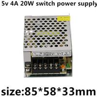 led-streifen bildschirm großhandel-AC110v-220v DC 5v 4A 20W 5v led-streifen display gerät genug leistung hochwertige schaltnetzteil