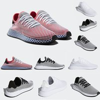 Wholesale Fabric Styles - New Top Fashion Originals Deerupt Runner Women Mens black red white Running Shoes Sports Sneakers CQ2624 New Style Wholesale szie 36-45