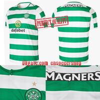 Wholesale celtic kits - Celtic soccer jerseys 2018-2019 new jersey Celtic football shirt Croatia Perfect quality kit camisetas de fubol