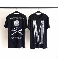 Wholesale destroyed black shorts - Mastermind Japan T shirt Men Women 1A:1 High Quality Destroyed Oversize Top Tees T-shirts Mastermind Japan T shirt