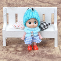 Wholesale bear decoration car online - Mobile Phone Pendant Ddung Soft Interactive Baby cm Hollow Doll Toy Home Decoration Ornament Hot Sale yg WW