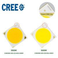 Wholesale led grow light chip CREE COB CXB3590 K K LM Original Chip High Power Lumens for DIY Plant Growing Lamp