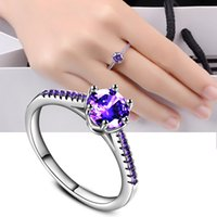 Wholesale middle east beauty - Precious Beauty Flower Created CZ Silver Plated Ring Size6 7 8 9 10 Wholesale Jewelry Women Gift R264