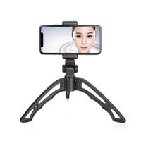 universalstabilisator großhandel-Neue Universal Handheld Videokamera Smart Handy Stativ Halter Selfie Stabilisator Tragbare Halter