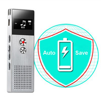 Wholesale key digital voice recorder - 8GB Digital Voice Recorder m Professional Audio Voice Recorder Portable One Key Recorder With Loudspeaker support languages