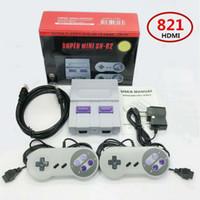 jeux vidéo pour enfants achat en gros de-Mini HDMI TV Console de jeux vidéo peut stocker 821 jeux vidéo 8bits famille poche console de jeux rétro jeux classiques pour enfants cadeau