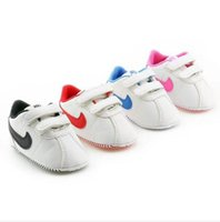 Wholesale Baby Boys Bottoms - 2017 Newest Fashion Baby Boys Cotton Fabric First Walker Toddlers Kids Cute Soft Bottom Toddler Shoes