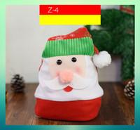 sombrero de fieltro decoraciones al por mayor-20 estilos de sombrero de navidad lindo cornamenta gruesa de felpa de lentejuelas de Santa tapa decoración de Navidad niños adultos sombreros