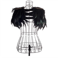 Wholesale Jazz dance costume with feather small Shawl vest Europe and the United States DS female singer costumes