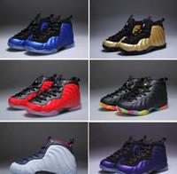 best website e1923 a844a Nuevos niños Penny Hardaway zapatos de baloncesto baratos niños niñas  zapatos atléticos negro púrpura niños zapatillas de deporte, tamaño de los  niños 28-35