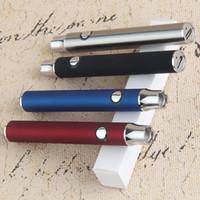 Wholesale Micro Usb Slim - Vape LO VV Vape Pen 510 thread battery Voltage Adjustable Electronic Cigarette Slim Vaporizer Pens Micro USB Charger Vape Pen