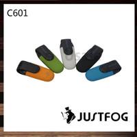 Wholesale cartridge refill kit resale online - Justfog C601 Starter Kit ml Refillable Cartridge Pod Built in mAh Battery Easy and Safe Refilling System Original
