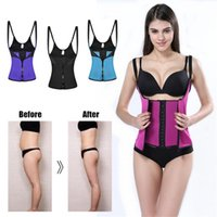 Wholesale fitness slim belt online - Hot in Women Slimming Corset Shapewear Body Shaper Tummy Waist Trimmer Fitness Belt Vest