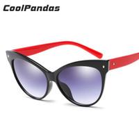 2018 New Cat Eye Sunglasses Gradient Women Accessories Retro Style Brand  Designer Shades UA400 Sun Glasses Oval oculos de sol ab21789709