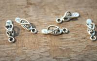 Wholesale sandals pendant for sale - Group buy 25pcs Antique Tibetan Silver Flip Flop Charms Pendants Sided Sandal Charm Jewelry Making x6mm