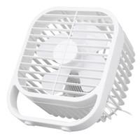 Wholesale car desks for sale - Group buy 8 Inch Portable Mini USB Fan Ultra Mute Four Leaf Cooling Desk Fan Wind Cooler easy carrying