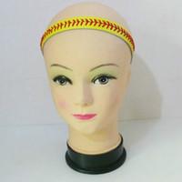 Wholesale wholesale fabric headbands - 2018softballsunny softball headbands softball headband big discount