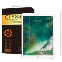 protector de pantalla de cristal templado ipad air al por mayor-Protector de pantalla de vidrio templado de 0,3 mm para iPad 2 3 4 Mini Air / Air2 Pro 2017 9.7 / 10.5 / 12.9 pulgadas