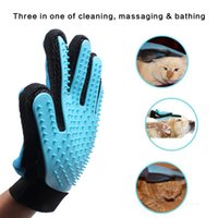Wholesale cat tools - Gentle Deshedding Brush Glove Efficient Pet Hair Remover Mitt Massage Tool Best Hair Remover for Long Short Hair Dogs Cats