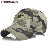 New Camo Army Baseball Cap Men Cotton Star Tactical Sun Dad Hat Casquette  Male Outdoor Camouflage Snapback Trucker Cap Gorras 0259e858920b