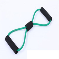 Wholesale red band crossfit resale online - Record Quality Rubber Resistance Bands Set Fitness Workout Elastic Training Band for Yoga Pilates Band Crossfit Bodybuilding Exercise