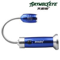kleinste led t6 taschenlampe großhandel-Skywolfeye New S156 Multifunktionale Drei-Grad-Taschenlampe Kleine Lampe Unten mit Magnet Licht zum Angeln Hunting1 X 18650 Oder Aaabattery