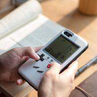 spielkonsolenspiele spielen großhandel-Retro Spiel Tetris Phone Cases Spielen Spielkonsole Abdeckung Stoßfest Schutzhülle Für iPhone X 8 7 6 6 S Plus Mit retail-paket